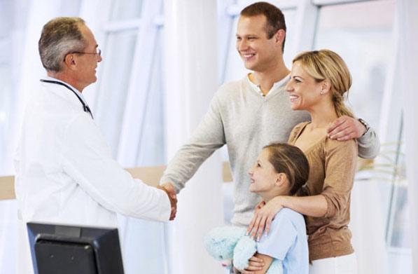 Вы можете быть уверены в эффективности каждого шага, который предпримет доктор для Вашего скорейшего выздоровления.